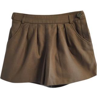 A.P.C wool shorts