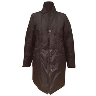 Max Mara padded and reversible coat