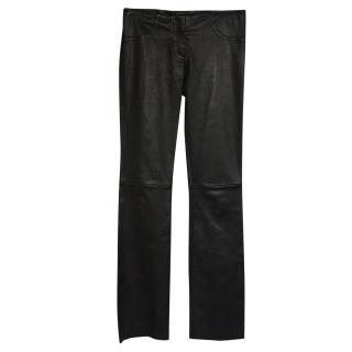 Jitrois Leather Leggings/Trousers Fr 34