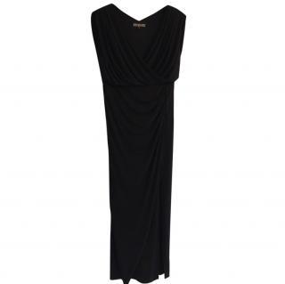 Biba long black dress