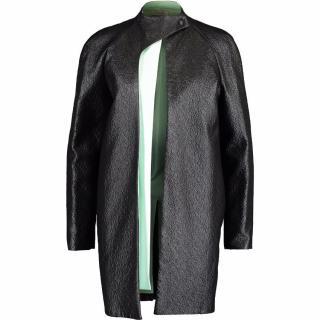 Mugler Runway Black Coat