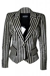 Balmain striped blazer