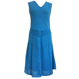 Catherine Malandrino Blue Knitted Dress