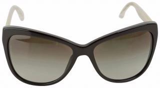 Dolce & Gabbana DG4151 Black/Transparent Butterfly Sunglasses