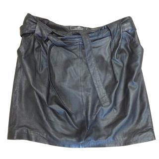 By Malene Birger Butter Soft Leather Mini Skirt