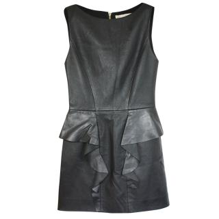 Emilio Pucci leather/silk-lined dress It 40