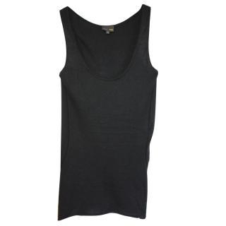 Fendi black cashmere vest