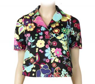 Love Moschino Short sleeve Multi colour Floral Jacket