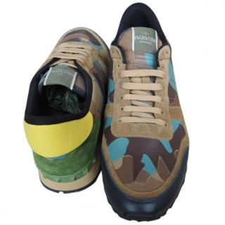 VALENTINO Men's Camouflage Sneakers