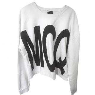 MCQ Alexander McQueen white Jumper