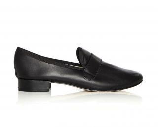 Repetto 'Michael' Loafer in Glittery Black