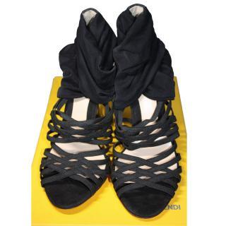 Fendi Black Heels eu 37.5 RRP gbp 580
