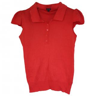 Joseph red cotton T-shirt S