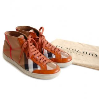Burberry Printed Sneakers