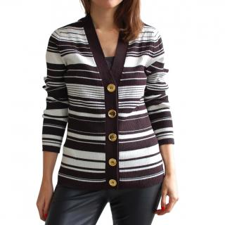 Michael Michael Kors Striped Cardigan