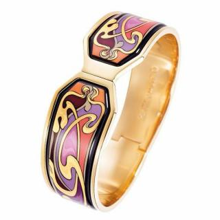 Frey Wille Hommage A Alphonse Mucha Gold Bangle
