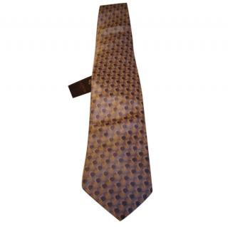 Lanvin grey tie