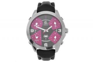 Jacob & Co Five Time Zone Thoe Fennel Wrist Watch