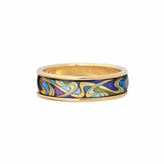 Frey Wille Hommage A Alphonse Mucha Aquamarine Ring