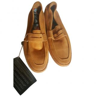Le Crown Suede Loafers