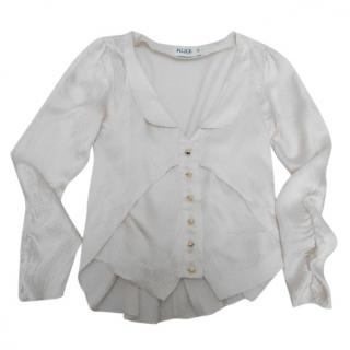 Alice by Temperley silk blouse