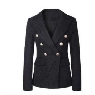 Balmain Black Double Breasted Blazer