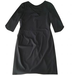 Emporio Armani black silk dress
