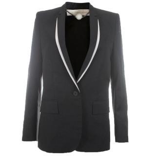 Stella McCartney Contrast Trim Classic Blazer