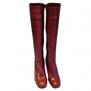 Etienne Aigner Brown long Boots