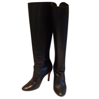 Caroliina Herrera black long boots