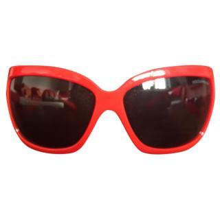 Dolce and Gabbana oversized sunglasses