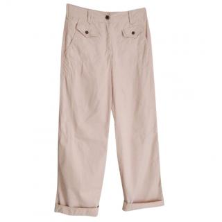 Marc Cain Blush Pink Leisure Trousers