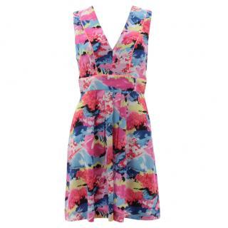 Claudie Pierlot 'Rita' Silk Printed Dress