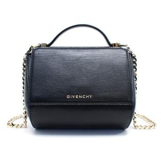 Givenchy Black Pandora Box Chain Shoulder Bag