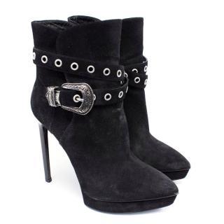 Saint Laurent Classic Janis 105 Ankle Boots