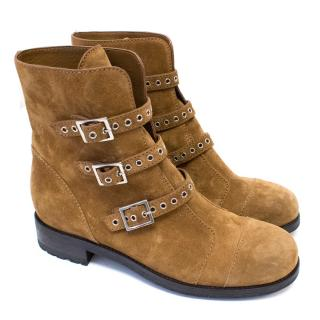 Jimmy Choo Dover Suede Ankle Boots