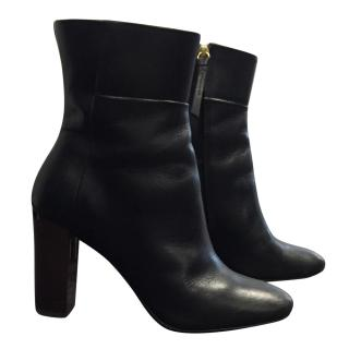 Claudie Pierlot Black Leather Boots