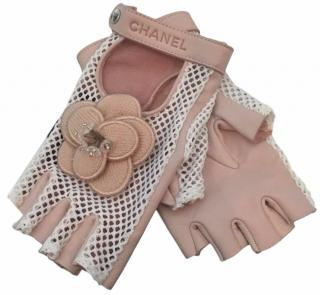 Chanel Lambskin Gloves