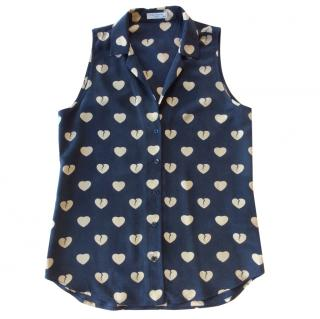 Equipment Adalyn sleeveless silk blouse