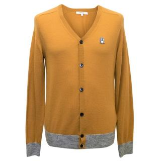 Carven Men's Yellow Men's Cardigan