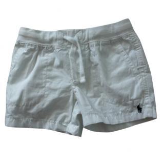 Polo Ralph Lauren Boys White Short