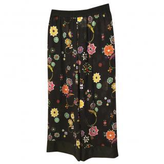Emilio Pucci Semi Sheer Pants