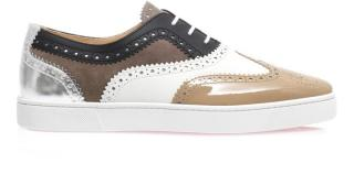 Christian Louboutin Leather Brogue Trainers