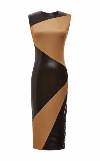 Fausto Puglisi Panelled Sretch-Jersey Dress