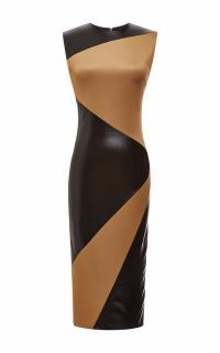 Fausto Puglisi Panelled Sretch-Jersey Dress