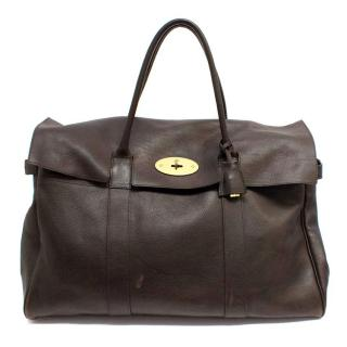 Mulberry Piccadilly Holdall Brown Leather Bag
