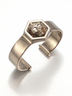 Alexander McQueen Skull hexagon bracelet