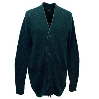 3.1 Phillip Lim Men's Oversized Cardigan in Midnight