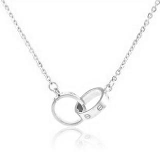 Cartier Love Necklace White Gold