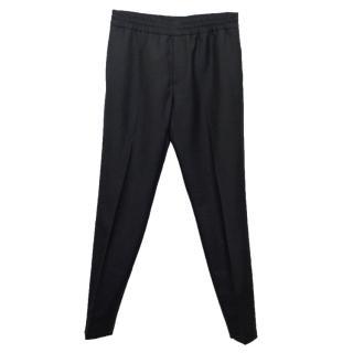 Acne Men's Black Ryder Long Trousers